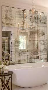 tiles mediterranean bathroom sometimes an artfully faded mirror is all that is necessary to create