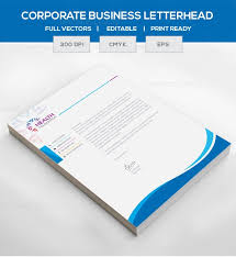 Corporate Letterhead Template Eps Corporate Letterhead Template 000105 Template Catalog
