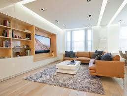 trend decoration feng shui. View In Gallery Evenly Lit Living Room With Warm Wooden Accents And Plush  Decor Trend Decoration Feng Shui N