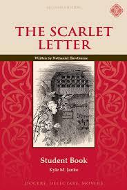 Scarlet Letter Book Cover Scarlet Letter Student Book Second Edition Memoria Press