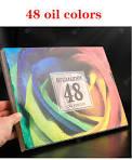 <b>48/72/120/160</b>/<b>180Color Professional Oil Color</b> Pencils Wood Soft ...