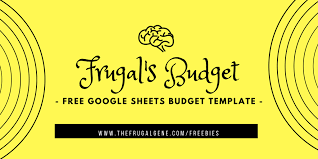 Google Spreadsheets Budget Template Personal Monthly Google Budget Spreadsheet Template Free