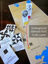 printable underground railroad quilt code game relentlessly fun printable underground railroad quilt code game