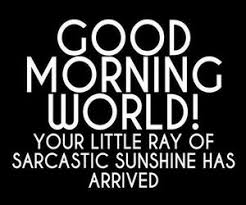 Good Morning World Quotes Best of Good Morning World Quotes Sarcastic Google Search Smile
