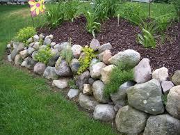 Rock Wall Garden | Found on garden-share.com