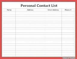 School Supplies List Template Blank Class Roster Template Printable Class Roster Template