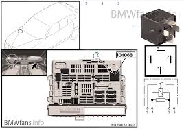 vehicle electrical system bmw x1 e84 x1 18dx n47n europe relay terminal 30g i01068