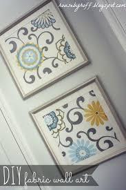 diy wall art diy fabric art on fabric wall art nz with easy diy wall art canvas factory