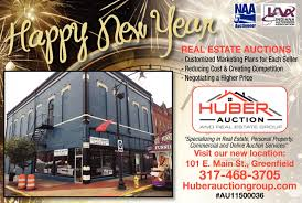 new year real estate flyers new year huber auction group morristown in