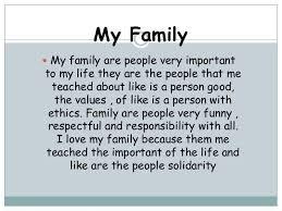 essays family essays
