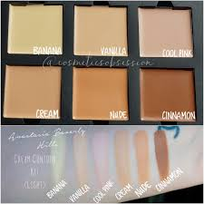 Contour Kit Light Anastasia Beverly Hills Contour Kit Cosmeticsobsession