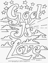 Small Picture Coloring Pages for Kids by Mr Adron God Is Love Printable Free