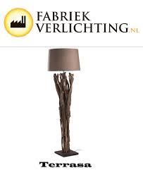 Staande Houten Lamp De Interieur Specialist