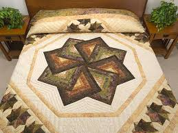 17 best Star Spin Quilting Ideas images on Pinterest | Cushions ... & Star Spin Quilt -- superb carefully made Amish Quilts from Lancaster  (hs6142) Adamdwight.com