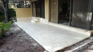 concrete over tiles tile over ed concrete tile over concrete sealer tile over concrete patio how