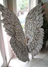 angel wings wall decor artistic