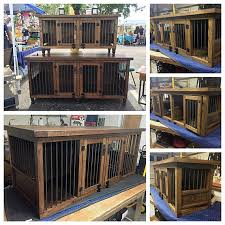 Dog Kennel Stain Finish dog furniture dog crate dog bed