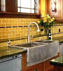 kohler stainless steel farmhouse sink stainless steel farm sink incredible farmhouse stainless steel kitchen sink faucet