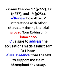 to kill a mockingbird essay writing ppt video online 2 review