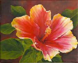 hibiscus flowers acrylic paintings of hibiscus hibiscus flower paintings many of my