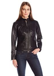 bernardo women s leather scuba jacket xl