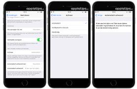 nieuwe iphone 6s instellen