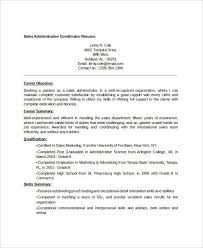 Objective For Resume In Sales 30 Free Sales Resume Templates Pdf Doc Free Premium