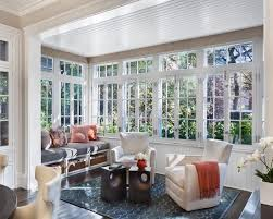 i like that we windows start at chair rail height with extra above the top i like the dark floor and the functional window seat and cool ceiling nice
