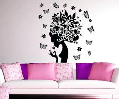 wall decals butterfly vinyl wall decal sticker butterfly lady wall decals . wall  decals ...