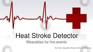 Heat Stroke Prevention Wearable