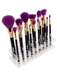 shop MAANGE Makeup Brush Holder Brush Stand - TRANSPARENT