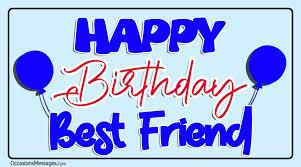 birthday wishes for best friend happy