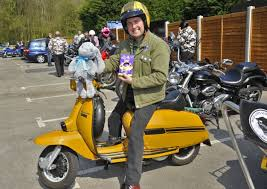 Bikers deliver Easter eggs and toys to sick children at Royal Preston  Hospital | Lancashire Evening Post