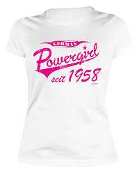 Tini Shirts Damen T Shirt 60 Geburtstag Frauen Geburtstagshirt