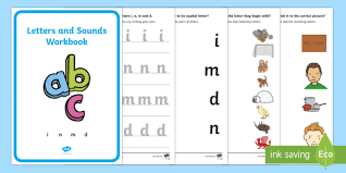 Jolly phonics programme in the junior infant classes we follow the jolly phonics programme to teach children letter names, sounds and letter formation for each. Letter Formation I N M D Workbook Primary Resources