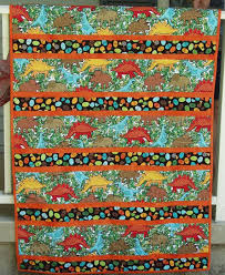 Best 25+ Handmade quilts for sale ideas on Pinterest | Handmade ... & Handmade quilt dinosaur quilt little boy quilt by SewingatTen Adamdwight.com