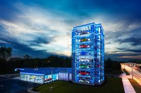 Carvana Houston Vending Machine Unique Carvana Debuts Country's Newest Car Vending Machine In Charlotte