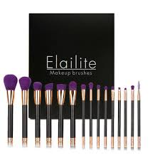 <b>Professional 15PCs Makeup Brush</b> Set Powder Cosmetic Tool ...
