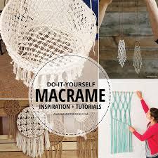 inspiring macrame tutorials andrea s notebook diy hammockcrochet hammock diyhammock chairmacrame