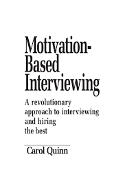 motivation based interviewing e book promotion