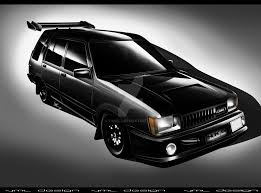 Toyota Tercel 4WD Wagon by yamell on DeviantArt