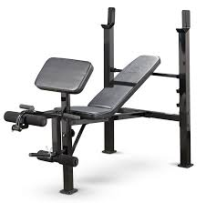 Impex Home Gym Exercise Chart Standard Adjustable Bench Press For Home Gyms Marcy Mwb 479