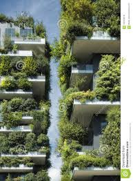 Sustainable Planting Design Sustainable Architecture Green Building With Lot Of Plants