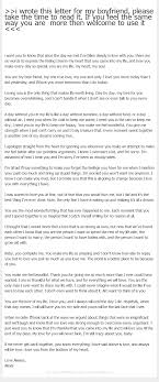 Love Letter To Boyfriend i wrote this letter for my boyfriend please take the time to read 1