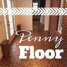 the conversation starter a penny floor tutorial