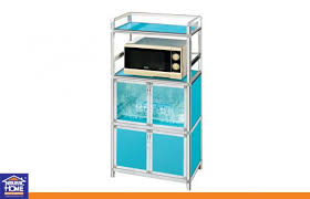 aluminium plastic panel microwave oven storage cabinets with glass door and dish images