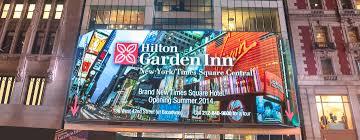hilton garden inn new york times square ny fachada del hotel