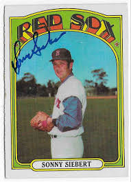 1972 Topps Sonny Siebert #290 on Kronozio