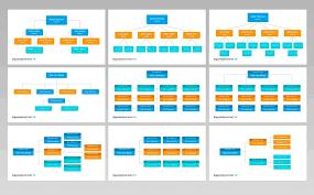 Organizational Chart And Hierarchy Presentation Keynote