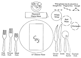 dining place settings. Dining Place Settings L